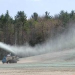 Shooting Warm Season Grass Seed With Tactifier