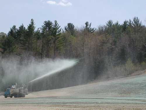 Hydroseeding Warm Season Seed Mix