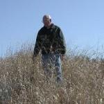 Ted Kelsey in Reclaimed Excavation Site (Sanbornton)